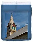 St Olaf Steeple Duvet Cover