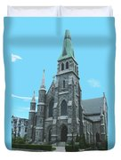 St Patrick Cathedral Duvet Cover