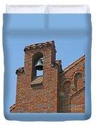 St Patrick Parish Bell Tower Duvet Cover