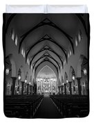 St Patricks Cathedral Fort Worth Duvet Cover