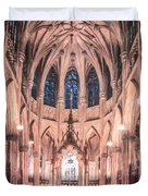 St Patricks Cathedral New York Usa Duvet Cover