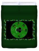 St. Patrick's Day Tournament - Featured In 'cards For All Occasions' Duvet Cover