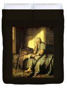 St. Paul In Prison Duvet Cover