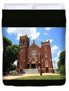 Hamel Illinois - St. Paul's Duvet Cover