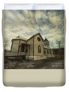 St. Pauls Anglican Church Duvet Cover by Priska Wettstein