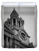 St Pauls Clock Tower Duvet Cover