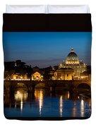 St. Peters Basilica Duvet Cover