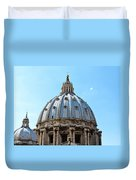 St Peters Basilica Dome Vatican City Italy Duvet Cover