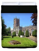 St Peter's Church - Tiverton Duvet Cover