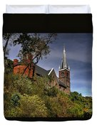 St. Peter's Of Harpers Ferry Duvet Cover by Lois Bryan