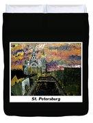 St  Petersburg Duvet Cover