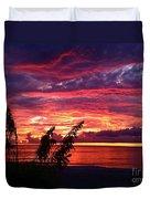 St. Petersburg Sunset Duvet Cover
