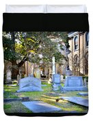 St. Philips Church Cemetery Charleston Sc Duvet Cover