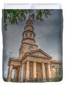 St. Philip's Episcopal Church In Charleston Duvet Cover