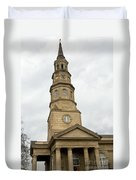 St Phillips Episcopal Church Charleston South Carolina Duvet Cover