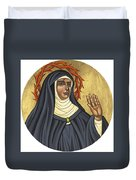 St. Rita Of Cascia Patroness Of The Impossible 206 Duvet Cover