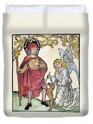 St. Roch (c1350-c1379) Duvet Cover