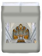St Roch Organ In Paris Duvet Cover