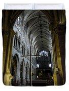 St. Severin Church In Paris France Duvet Cover