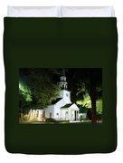 St Simons Island Presbyterian Church Duvet Cover