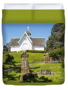 St. Stepen's Chapel Duvet Cover