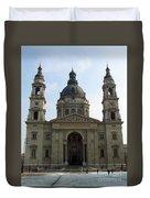 St Stephens Basilica Budapest Duvet Cover