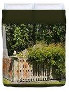 St. Stephen's Gravesite Duvet Cover