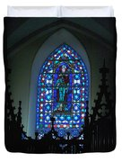 St Thomas Stained Glass Duvet Cover