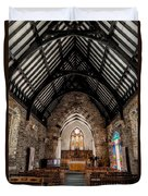 St Tudcluds Church Duvet Cover by Adrian Evans