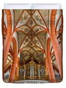 St Wendel Basilica Organ Duvet Cover