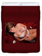 Stacey13 Duvet Cover by Yhun Suarez