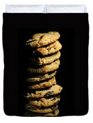 Stack Of Cookies Duvet Cover