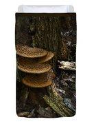 Stack Of Fungi Duvet Cover