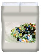Stack Of Marbles Duvet Cover
