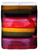 Stacked Colors Duvet Cover