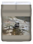 Stacked Stones Duvet Cover