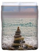 Stacking Stones Duvet Cover