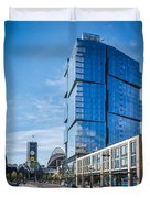 Stadium Place Apartments Duvet Cover