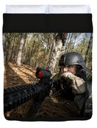 Staff Sergeant Hydrates Duvet Cover