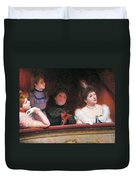 Stage Or Au Theatre Duvet Cover