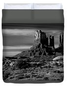 Stagecoach Rock Monument Valley Duvet Cover