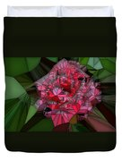 Stain Glass Rose Duvet Cover