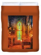 Stained Glass 05 Photo Art Duvet Cover