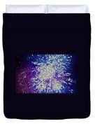 Stained Glass Beautiful Fireworks 1 Duvet Cover