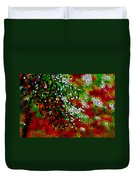 Stained Glass Pine Tree Duvet Cover