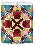 Stained Glass Window 5 Duvet Cover