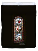 Stained Glass Window Iv Duvet Cover