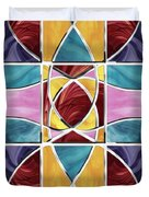 Stained Glass Window Duvet Cover