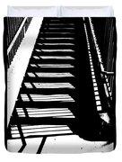 Stair Shadow Duvet Cover