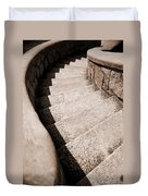 Stairs At Maymont Duvet Cover